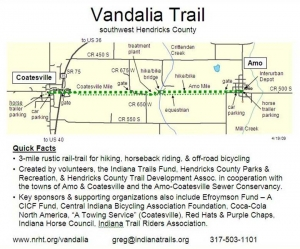 Vandalia Trail Map Detailed