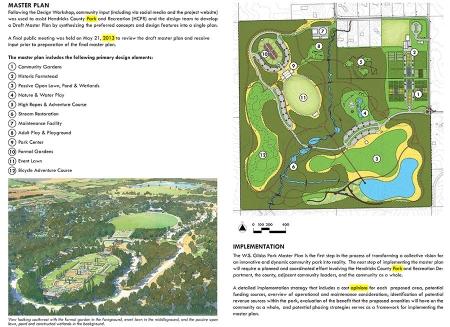 1272 Gibbs Memorial Park - Master Plan