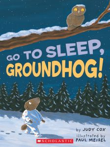 Animal Tales: Go to Sleep, Groundhog! @ Clayton Public Library