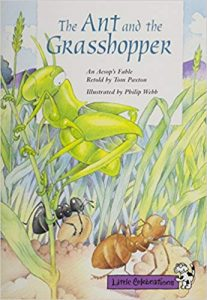 Animal Tales: The Ant and the Grasshopper @ Plainfield Public Library