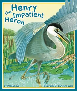 Animal Tales: Henry the Impatient Heron @ Clayton Public Library