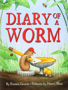 Animal Tales: Diary of a Worm @ Clayton - Liberty Township Public Library | Clayton | Indiana | United States