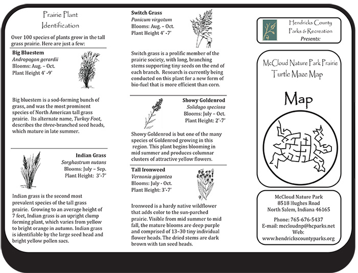 Click to download 2016 Turtle Prairie Maze Map.