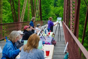 Plein Air Painting @ McCloud Nature Park | North Salem | Indiana | United States