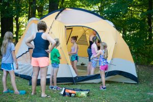 Scout Overnighter for Girls @ McCloud Nature Park