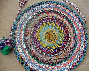 T-Shirt Rugs @ McCloud Nature Park | North Salem | Indiana | United States